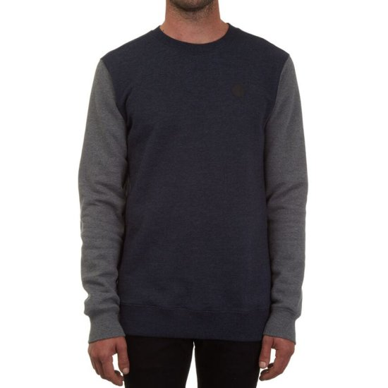 Volcom Single Stone Clrblk Crew - navy XL