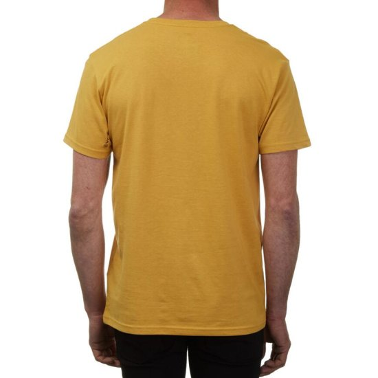 Volcom Circlestone Basic SS T-Shirt - dirt gold L