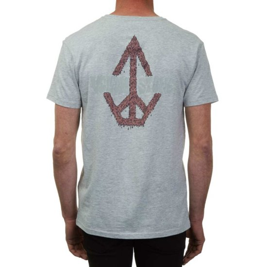 Volcom Sludgestone Basic SS T-Shirt heather grey S