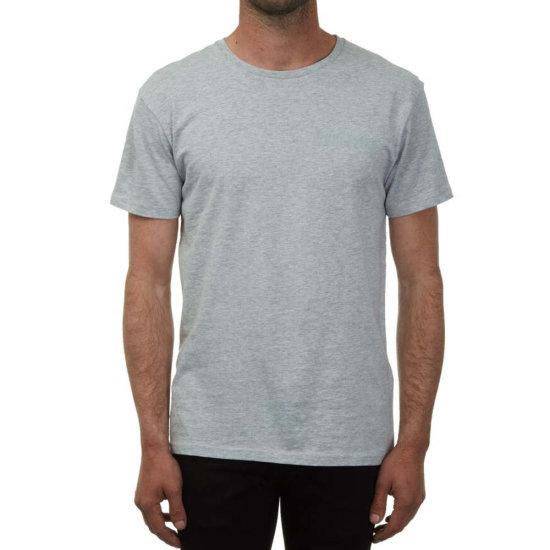 Volcom Sludgestone Basic SS T-Shirt heather grey XL