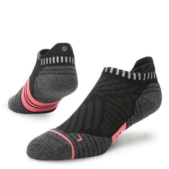 Stance Run Concrete Tab Socke - black S