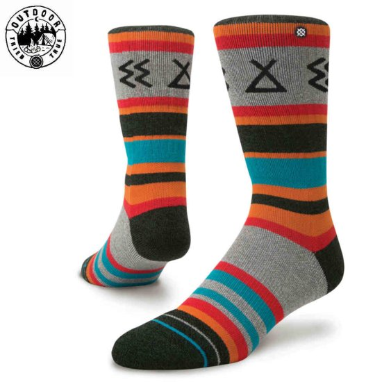 Stance Outdoor Ironwood Socke - turquoise L