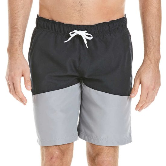 Bench Colour Block Boardshort - black beauty