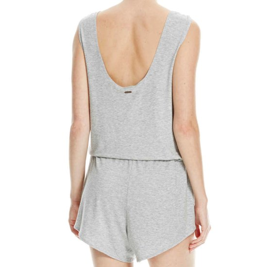 Bench Straight Playsuit - grey marl S