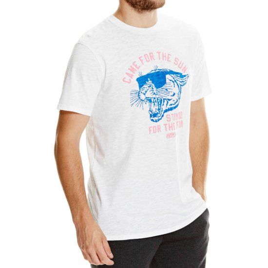 Bench Graphic T-Shirt - white