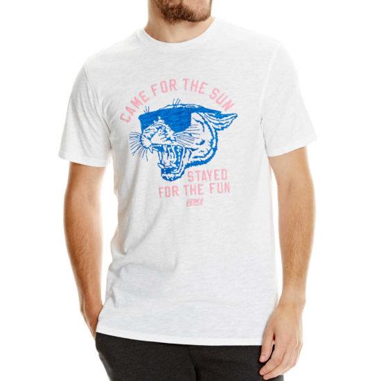 Bench Graphic T-Shirt - white M