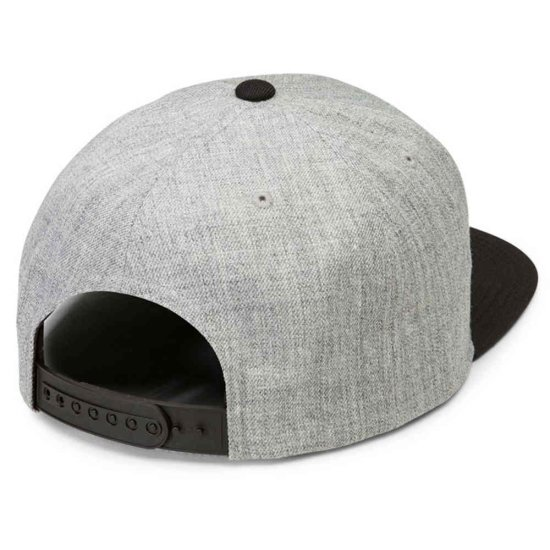 Volcom Quarter Twill Snapback - black grey