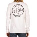 Volcom On Lock Basic Longsleeve - white S