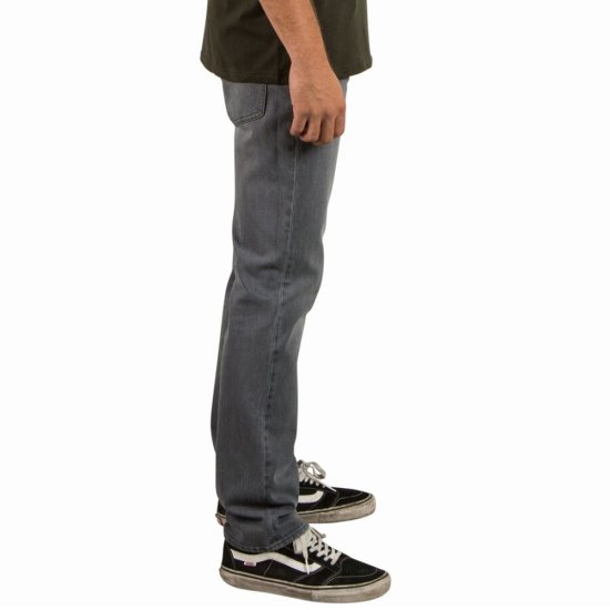 Volcom Solver Denim Hose - power grey 33/32