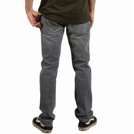 Volcom Solver Denim Hose - power grey 34/34