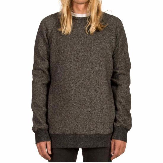 Volcom Static Stone Crew Sweatshirt - black S