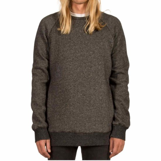Volcom Static Stone Crew Sweatshirt - black XL