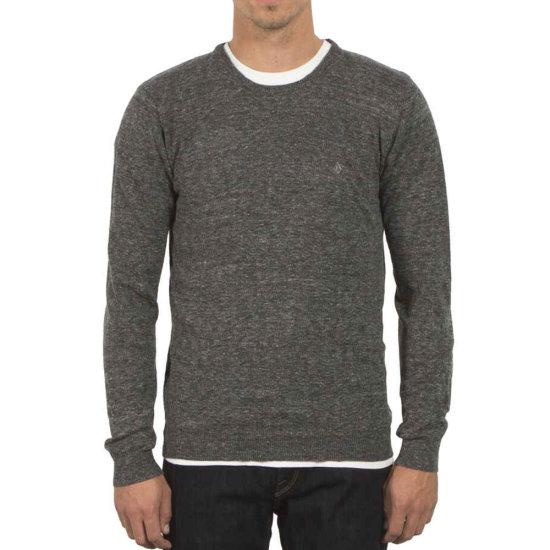 Volcom Uperstand Crew Sweatshirt - heather grey S