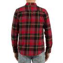Volcom Caden LS Hemd - true red M