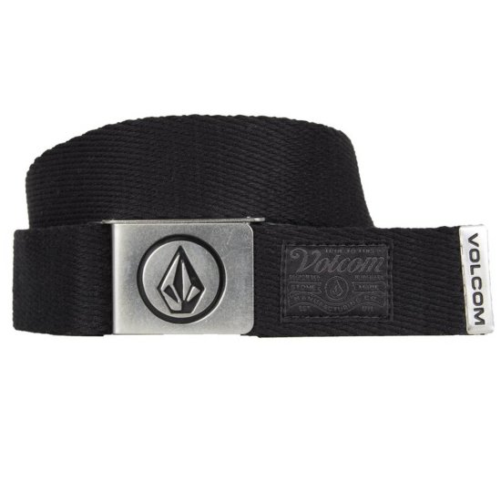 Volcom Circle web belt - stoney black