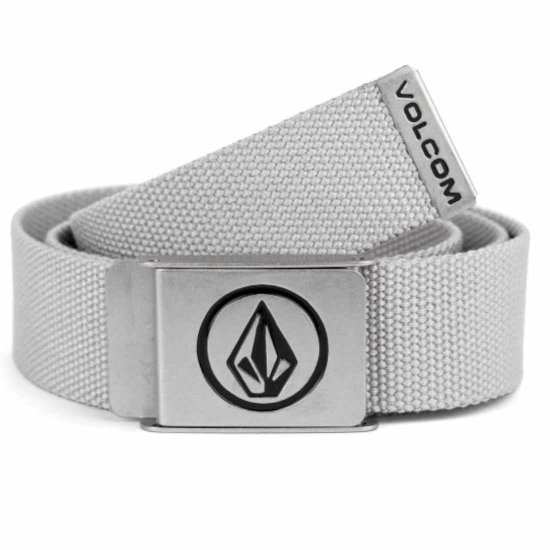 Volcom Circle web belt - heather grey