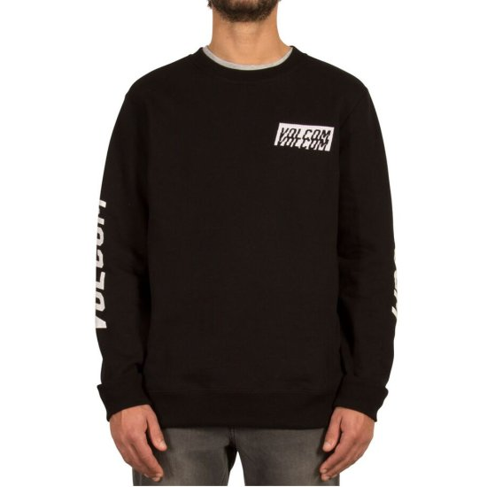 Volcom Supply Stone Crew Sweatshirt - black