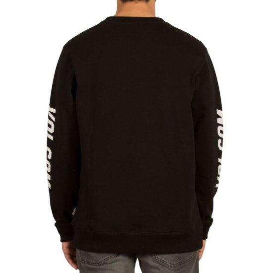 Volcom Supply Stone Crew Sweatshirt - black XL
