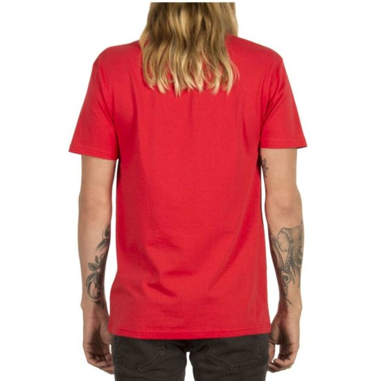 Volcom Circle Stone Basic SS T-Shirt - true red XL
