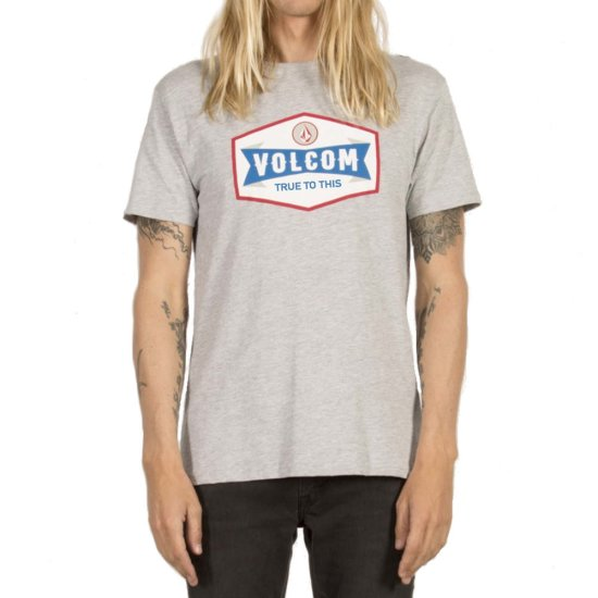 Volcom Budy Basic SS T-Shirt - heather grey