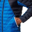 Bench Col Block Down Jacket - blau M
