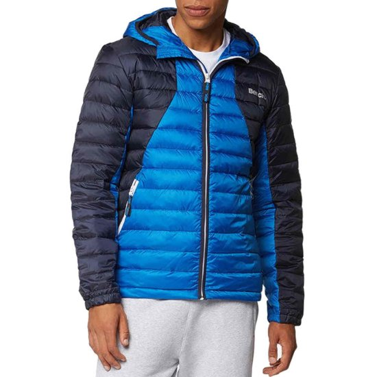 Bench Col Block Down Jacket - blau XL