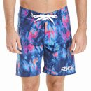Bench AOP Boardshort - medieval blue