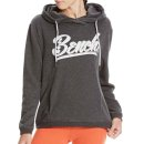 Bench Slogan Hoody - dark grey marl
