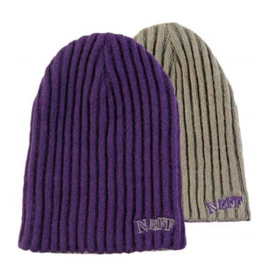 Neff Rezi-Flip Beanie purple
