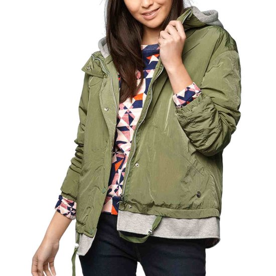 Bench Oversized 2 in1 Jacket - dark green