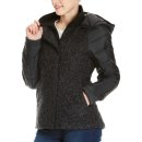 Bench Asymmetric Wool Nylon Jacke - black S
