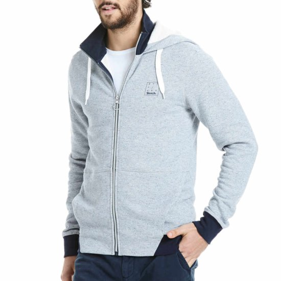 Bench 2in1 Zip Hoodie Jacke - navy M