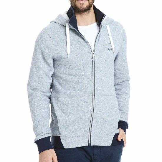Bench 2in1 Zip Hoodie Jacke - navy L