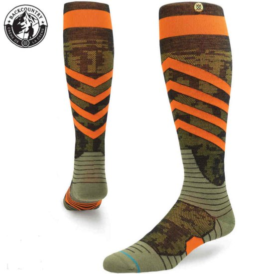 Stance Snow Spec Socke - orange
