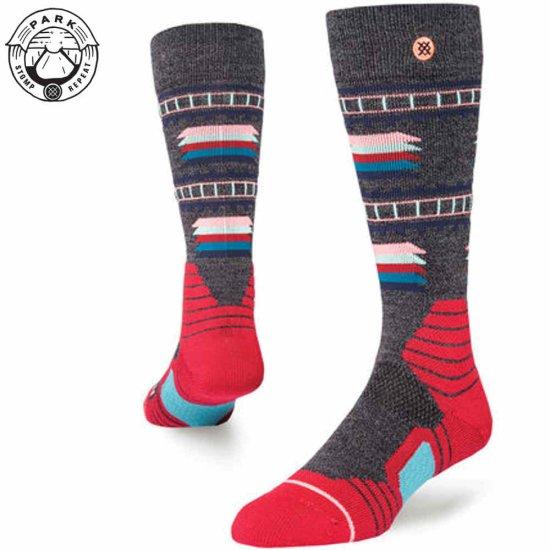Stance Snow Bridgeport Socke - black
