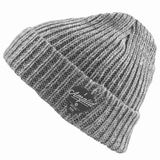 Amplid Roadie knitted Beanie - greyish
