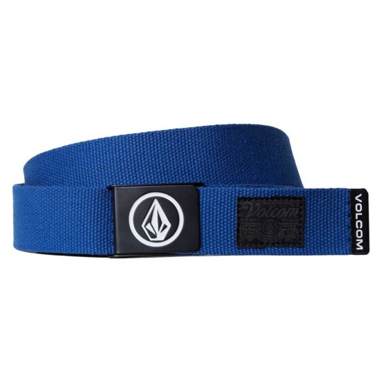 Volcom Circle web belt - camper blue
