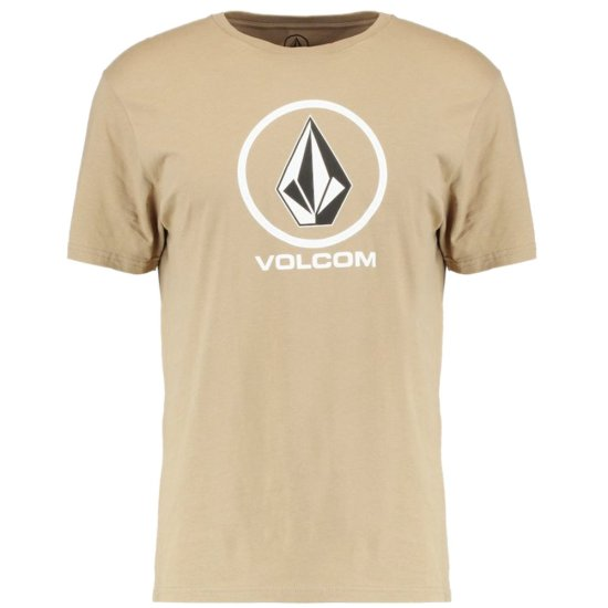 Volcom Crisp Basic SS T-Shirt - sand brown XL
