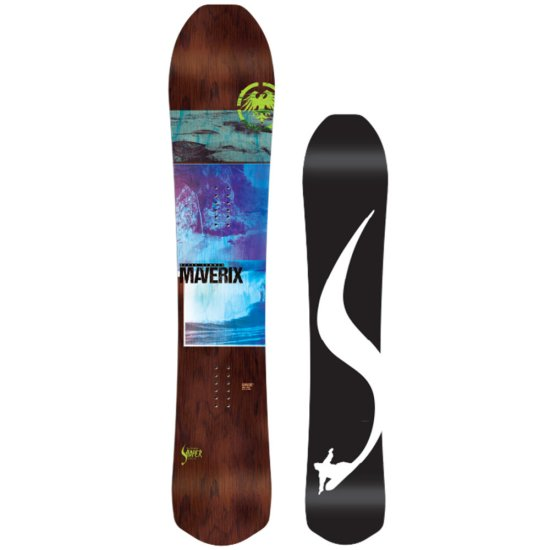 Never Summer Maverix Allmountain Snowboard