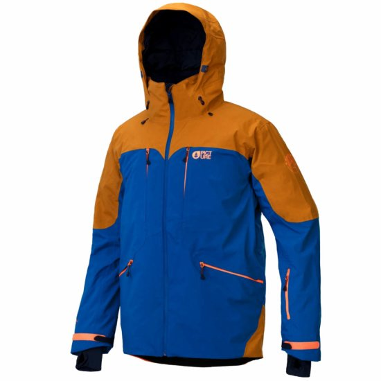Picture Naikoon Jacket 20k - petrol blue L