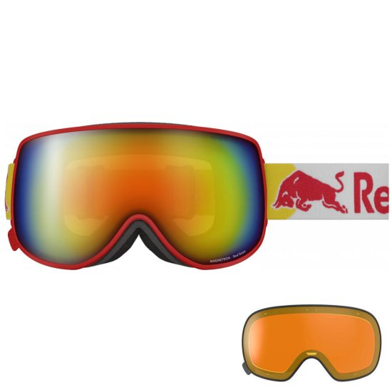Red Bull Magnetron EON 005 goggle - red
