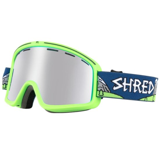 Shred Monocle Needmoresnow goggle - green