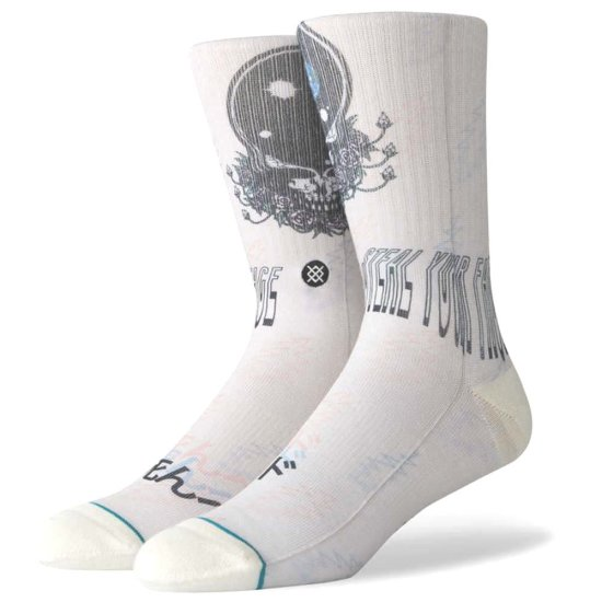 Stance Lifestyle Steal Your Face Socken - natural M