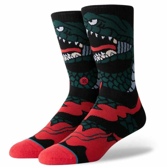 Stance Lifestyle Permanent Crew Socken - black