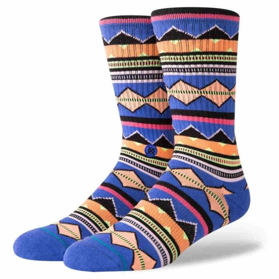Stance Foundation Kern Crew Socken - multi M
