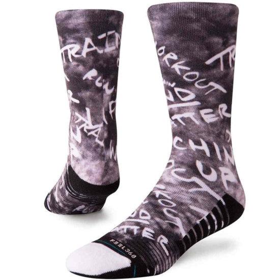 Stance Training Mens Disfunction Socken - black M