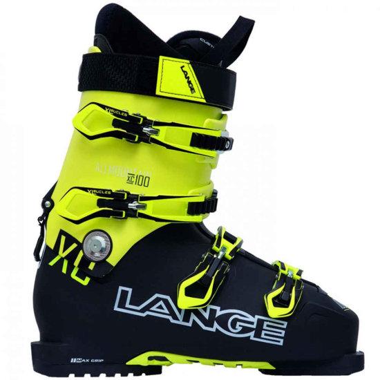 Lange XC 100 Skischuh - black yellow 275