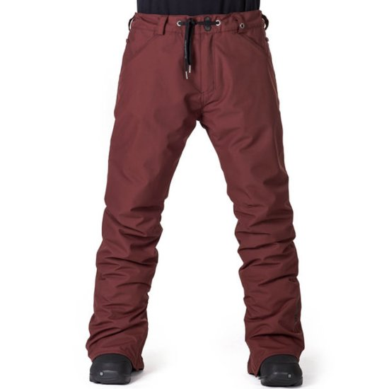 Horsefeathers Cheviot Snowpant 10k - ruby
