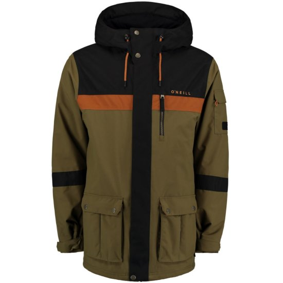 O'Neill Bearded Hybrid Jacket 10k - dark olive XL