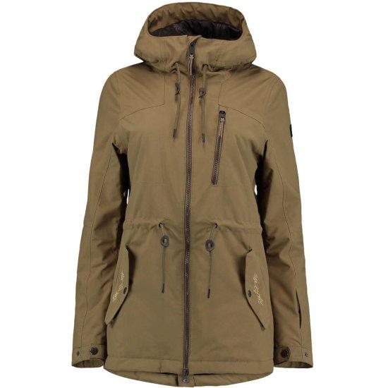 O'Neill Eyeline Hybrid Jacket 10k - dark olive